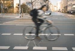 Neue Fahrradmessstelle an der Karl-Liebknecht-Straße / Höhe Braustraße. Foto: Stadt Leipzig, Roland Quester