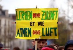 Fridays-for-Future-Demo im April 2019. Foto: L-IZ