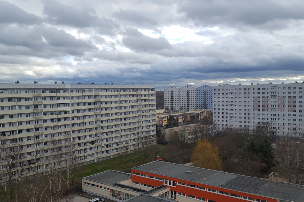 Wolken über Lößnig. Foto: Marko Hofmann