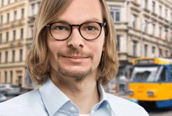Tom Pannwitt, Stadtratskandidat der SPD. Pressefoto: Tom Pannwitt