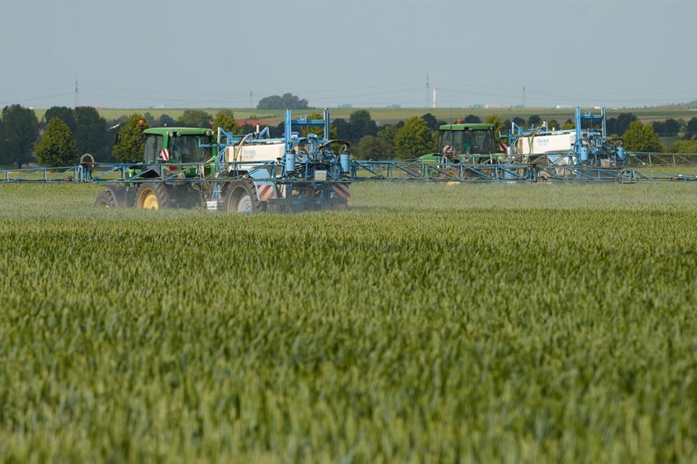 Ausbringung von Pflanzenschutzmitteln. Foto: André Künzelmann / UFZ