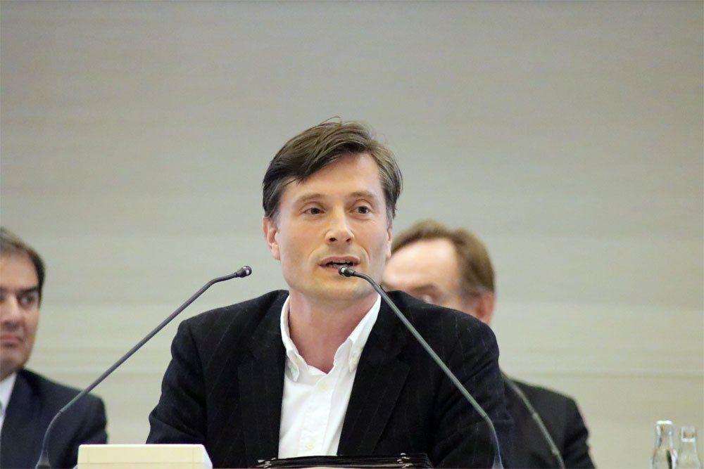 Umweltbürgermeister Heiko Rosenthal im Stadtrat Leipzig. Foto: L-IZ.de
