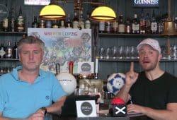 Die Sportpunkt-Moderatoren Norman Landgraf (li.) und Martin Hoch. Screenshot: Sportpunkt
