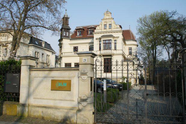 Sitz der SLM in der Lassallestraße. Foto: Ralf Julke