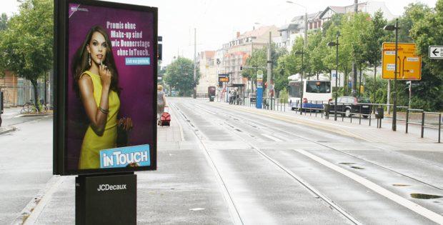Infantilität als Werbebotschaft. Foto: Ralf Julke