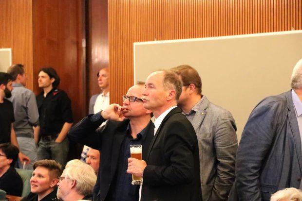 Übrig geblieben bei der FDP: René Hobusch und Sven Morlok müssen nun eine neue Fraktion schmieden. Foto: L-IZ.de