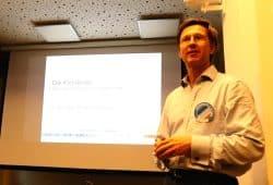 """Der Physiker und """"Scientist for Future"""" Dr. Christoph Gerhardts erklärte am 20. Mai 2019, wann es kippt. Foto: L-IZ.de"""