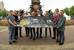 """Die Veranstalter und Organisatoren freuen sich auf das """"28. Leipziger Stadtfest"""" Foto: Andreas Schmidt"""