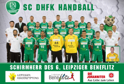 6. Leipziger Beneflitz, Schirmherrschaft SC DHfK © Rainer Justen