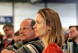 Anna Cavazzini – die Chemnitzerin ist bei den Grünen auf Listenplatz 7 und dürfte so als Ostdeutsche am 26. Mai 2019 den Sprung ins neue Europaparlament schaffen. Foto: L-IZ.de