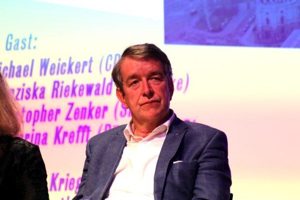 Christian Kriegel (AfD) versuchte sich in weitegehend moderaten Tönen. Foto: L-IZ.de