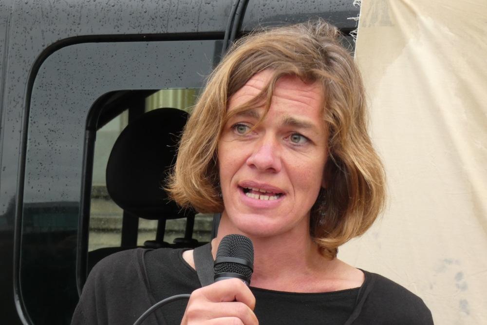 Stadträtin und Landtagsabgeordnete der Linken: Juliane Nagel. Foto: Lucas Böhme
