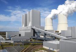 LEAG, Ansicht des Kraftwerks Lippendorf bei Leipzig. Foto: Kathrin Roessler