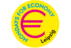 Logo Mondays For Economy Leipzig