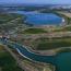 Der 850 m lange Störmthaler Kanal zwischen Markkleeberger und Störmthaler See © LMBV/Radke