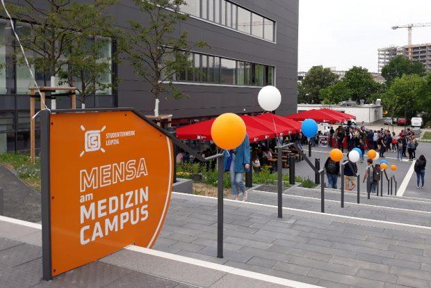 Die Mensa bietet Platz für knapp 500 Gäste. Foto: René Loch