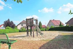 Der Spielplatz in der Großbardauer Teichsiedlung wird ergänzt © Stadt Grimma