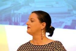 Stadträtin Ute Elisabeth Gabelmann (Piraten) aus der Freibeuterfraktion. Foto: L-IZ.de
