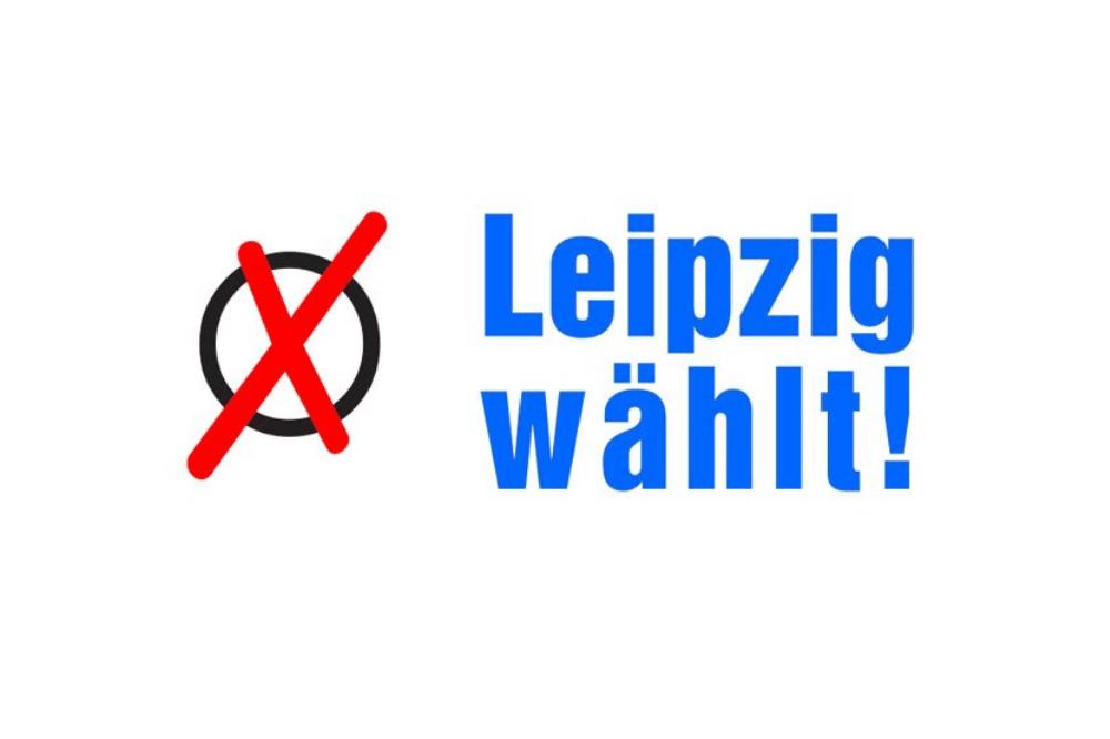Wahllogo. Foto: Stadt Leipzig