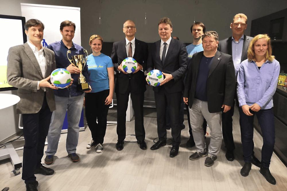 Faire Bälle zum Leipziger Cup. Foto: Grüne Fraktion Leipzig