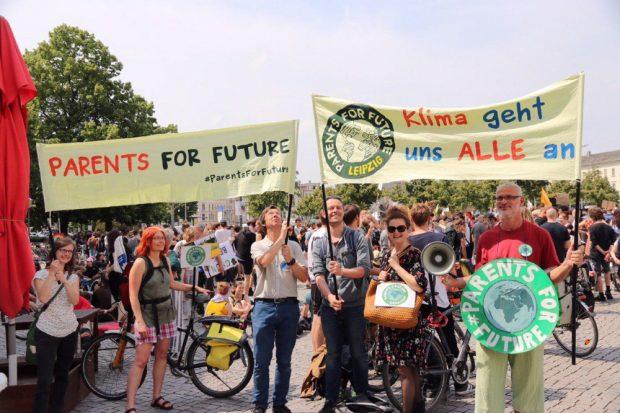 Demonstrieren für den Klimaschutz. Foto: L-IZ.de