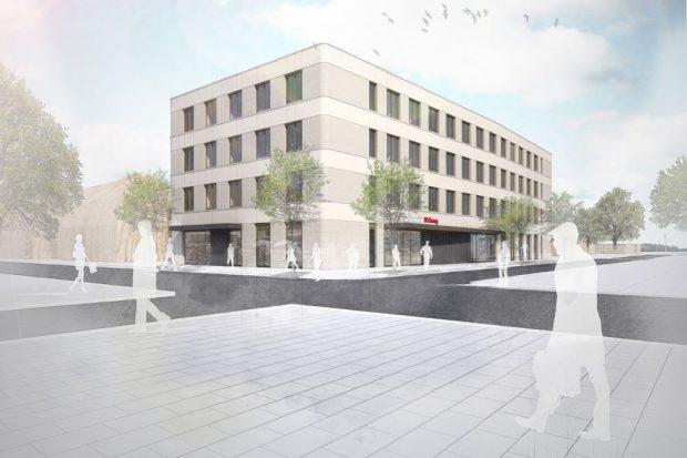 Visualisierung des neuen Ambulanzgebäudes. Foto: Klinikum St. Georg