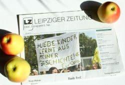 Liebe Kinder, lernt aus meiner Geschichte. Foto: Ralf Julke