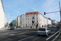 Auch die hat es in sich: Kreuzung Könneritrzstraße / Antonienstraße. Foto: Marko Hofmann