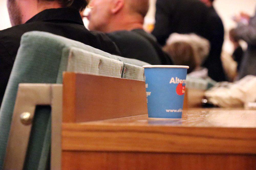 In Leipzig steht den 14,9 % für die AfD eine rot-grün-rote Mehrheit von fast 55 % gegenüber. Foto: L-IZ.de