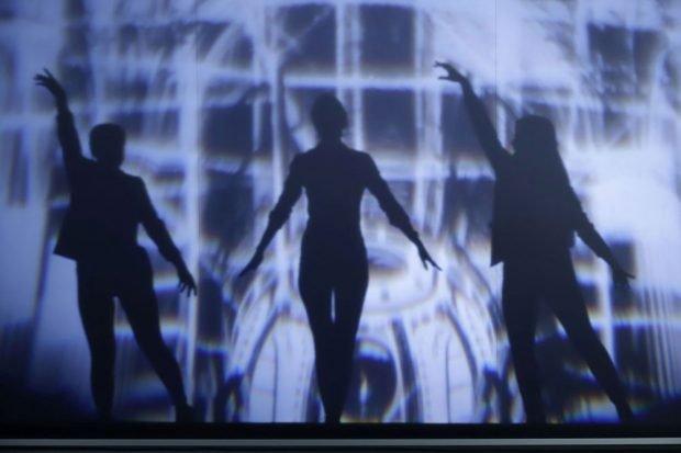 Schattenprojektion im Lichtraum. Foto: LTM / PUNCTUM Alexander Schmidt
