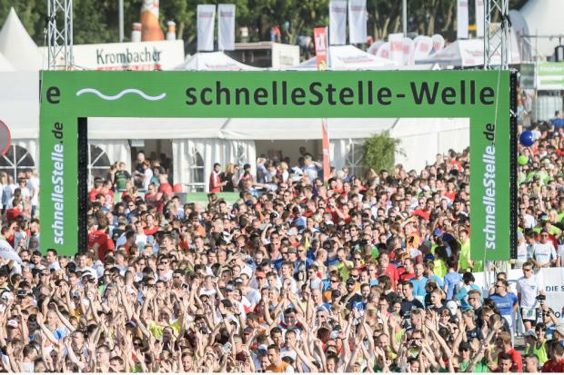 schnelleStelle.de Firmenlauf. Quelle: Die Sportmacher GmbH