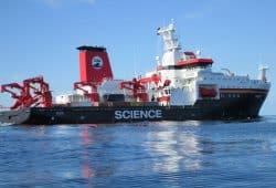 Das Forschungsschiff Sonne. Foto: M Hartig / Meyer Werft