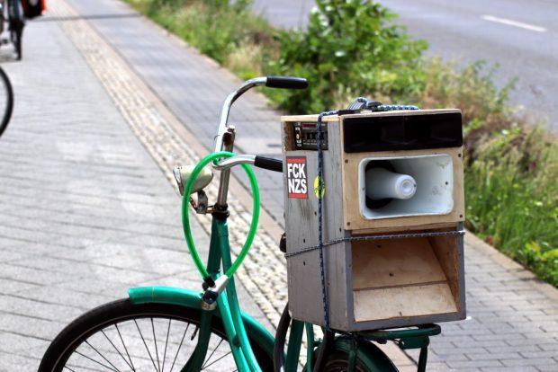 Musik gabs auch, manchmal zu laut. Foto: L-IZ.de