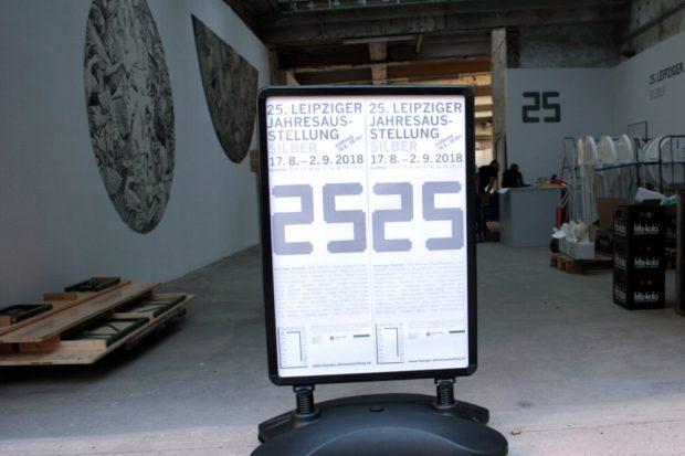 Die 25. Leipziger Jahresausstellung 2018. In diesem Jahr wohl ohne Nachfolger. Foto: Daniel Thalheim