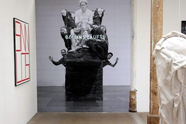 Läuft doch noch was 2019? Die Leipziger Jahresausstellung findet statt. Foto: Daniel Thalheim
