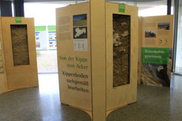 Die Ausstellung vermittelt anschaulich die vielschichtigen Erkenntnisse über den Kippenboden, Foto: LEAG