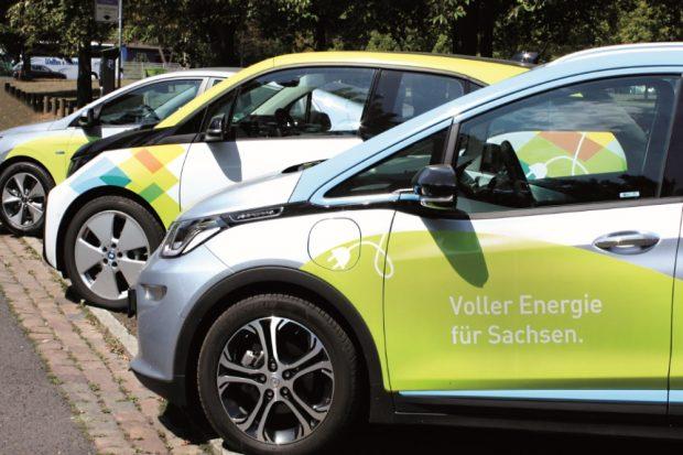 E-Autos als Dienstwagen. Quelle: SAENA GmbH