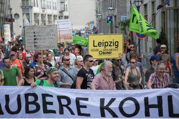 Kohle Stoppen!-Demo © Jan Zombik