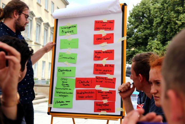 Konkrete Vorschläge wie auch aus allen anderen Arbeitsgruppen. Foto: L-IZ.de