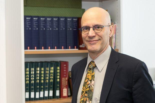 Forscht an der Universität Leipzig: Konrad Adenauer-Preisträger Prof. Dr. André Laliberté. Foto: Swen Reichhold/Universität Leipzig