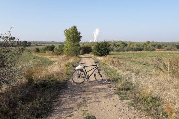 Wo vorher ein Feldweg auf die Magdeborner Halbinsel führte ... Foto: Uferleben e.V.
