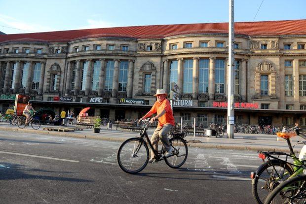 Radeln auf dem Ring, na sowas ... Foto: L-IZ.de