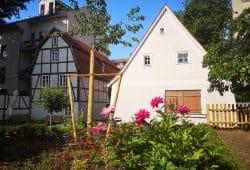 Schillerhaus mit Garten. Foto: SGM