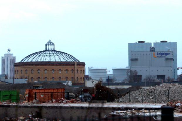Am 20. Juni soll die Entscheidung über den Liefervertrag mit Lippendorf fallen. Die Stadtwerke Leipzig an der Eutritzscher Straße. Foto: L-IZ.de