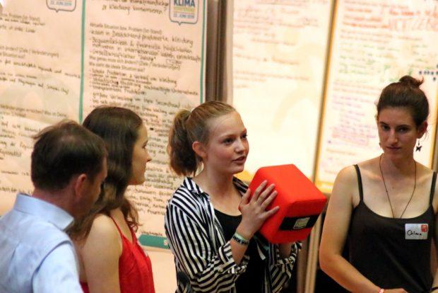 Die Vorstellung der Ideen gabs am Schluss - anschließend Reaktionen vom MP. Foto: L-IZ.de