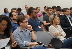 Workshop mit Studierenden und Unternehmensvertretern an der Universität in Belem/Brasilien. Foto: Olaf Reinhold/Universität Leipzig