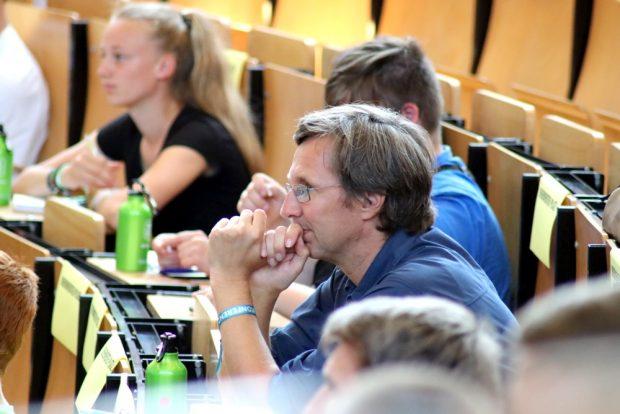 Wurde als einer der wenigen unabhängigen Experten wahrgenommen - Scientists for Future-Vertreter Physiker Christoph Gerhardts. Foto: L-IZ.de
