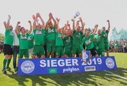 Der offizielle Sieger der Oberliga-Süd-Staffel - und damit Aufsteiger in die Regionalliga - ist: Die BSG Chemie Leipzig! Foto: Jan Kaefer