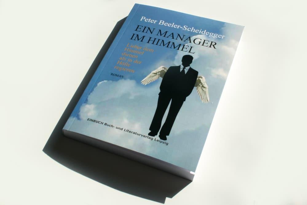 Peter Beeler-Scheidegger: Ein Manager im Himmel. Foto: Ralf Julke