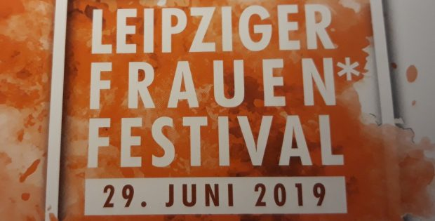 Leipziger Frauen*festival am 29. Juni 2019. Foto: René Loch